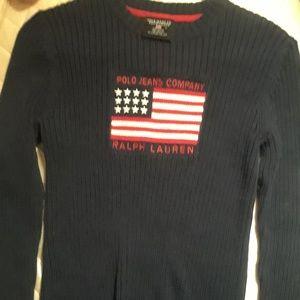 vintage polo jeans co Ralph Lauren sweater